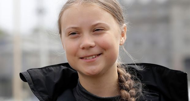 Climate+activist+Greta+Thunberg+started+skipping+school+on+Fridays+to+protest+climate+pollution.