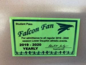 Here is an example of what the yearly sport passes look like.