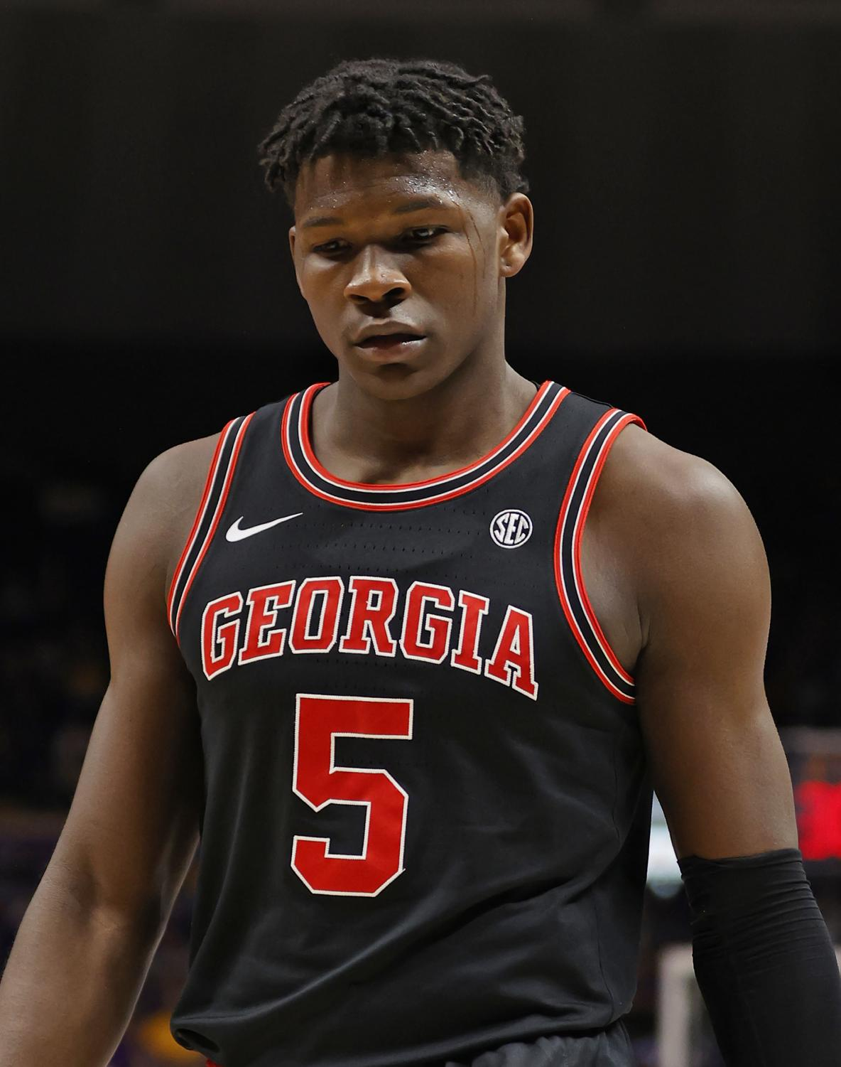 Anthony Edwards with Georgia in 2019.