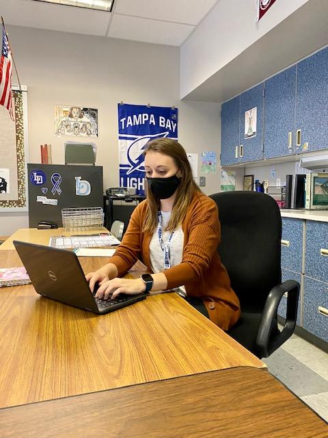 Lower Dauphin introduces new English teacher