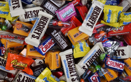 Trick-or-treaters come home on Halloween night with an assortment of delicious candy treats. - Photo by Daily Herald