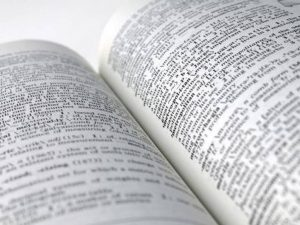 There are many hidden gems that can be found within a dictionary. - Photo by Merriam-Webster