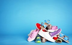 A pile of more ordinary shoes. - Photo by Focus on the Family